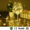 Cable de cobre de la luz de la luz de Navidad