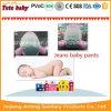 O bebê macio descartável do tecido do bebê da boa qualidade arfa o tecido para distribuidores
