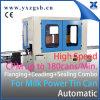Leche en polvo automático específico puede #502 que hace rebordear la combinación del Tri-Sitio de trabajo del lacre que ensancha
