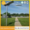 Éclairage solaire solaire approuvé des réverbères de Ce/RoHS/TUV DEL