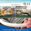 Ligne en plastique d'extrusion de pipe de PVC/PP/PE/EVA, pipe flexible faisant la machine