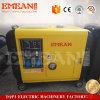 générateur utilisé en attente portatif silencieux de diesel du générateur 5kw