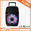Temeisheng 8 인치 트롤리를 가진 액티브한 DJ 쌍방향 스피커 아BS 플라스틱 800 와트