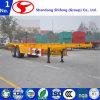40 voeten 2 Aanhangwagen van de Container van Assen de Skeletachtige Semi voor Verkoop
