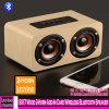 5017 Madeira Buzina 2 Placa de alto-falante Bluetooth sem fio