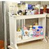 Double Deck Cosmestic Bastidor Rack de cosméticos Mostrar escritorio HC-1502