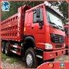 ヨーロッパ3は頑丈な構築機械手動HOWO Sinotrukダンプトラックを使用した