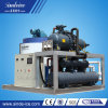 macchina di fabbricazione di ghiaccio utilizzata industriale del fiocco 8000kgs/24hrs da vendere