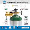 Cilindro de gás portátil pequeno do oxigênio da liga de alumínio de Tped