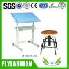 Schule-Zeichnungs-Standplatz, Zeichnungs-Tablette mit Prüftisch (SF-38S)