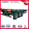 3 차축 40ft 베트남에 있는 골격 콘테이너 트럭 트레일러 최신 판매