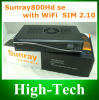 Sunray4 800 SE Sr4 Satellite Receiver HD Sunray 800se-M IPTV mit Remote Control Switch