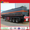 30-60m3 Öltanker-Transport-Kraftstofftank-LKW-Schlussteil