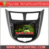 ヒュンダイVerna/Accent/Solaris (AD-7120)のためのA9 CPUを搭載するPure Android 4.4 Car DVD Playerのための車DVD Player Capacitive Touch Screen GPS Bluetooth