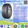 Neumáticos chinos del vehículo de pasajeros de Wp16 225/60r16, neumáticos de la polimerización en cadena
