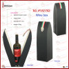 Parte superiore-End Faux Leather Single Bottle Wine Holder (5477R2)
