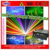 Luz al aire libre del disco del laser de la animación del RGB