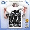 도매 OEM 남자의 최상 면 귀영나팔 패턴에 의하여 인쇄되는 t-셔츠