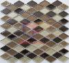 Wand verwendetes Hexagon-Dekoration-Glasmosaik (CST209)