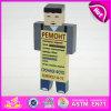 Novo produto quente para 2015 Brinquedo de marionetes de madeira para crianças, DIY Brd Toy Chdilren Toy Toy de madeira, Best Seller Mini brinquedo de madeira de marionetes W06D062