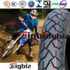 Pneu/pneu bon marché de moto de la vente en gros 110/90-17 d'usine