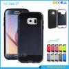 Cas mince de téléphone d'armure de couche duelle pour la galaxie S7 de Samsung