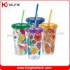460 ml paredes duplas cup palha (KL-SC013)
