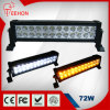 72 Watt 13.5 Inch Double-rij LED off-Road Light Bar voor Motorsport Vehicle