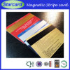 2 جوانب [أفّست برينتينغ] بلاستيك [بفك] [مجنتيك] بطاقة مع توقيع