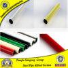 適用範囲が広いプラスチック上塗を施してある黒ESD鋼管