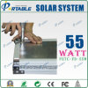 55W Portable Solar Energy System with Pull Rod and Wheel (PETC-FD-55W)