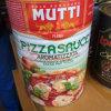 In Büchsen konservierte Tomatenkonzentrat-Pizza-Soße