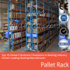 Système lourd de crémaillère de palette pour le maximum industriel 4, 000 kilogrammes Udl de solutions de stockage d'entrepôt/de niveau