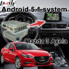 Casella Android di percorso di GPS per l'interfaccia del video del sistema di Mazda 3 Axela Mzd