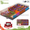 高性能の跳躍のベッドの長方形のトランポリンはトランポリン公園装置をカスタマイズした