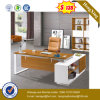 Weiße Puder-Beschichtung-Stahlbein-Melamin-Schreibtisch-Büro-Tisch (UL-MFC474)