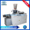 Double machine d'extrudeuse de production d'extrusion de pipe de PVC UPVC PPR de plastique de vis de la SZ
