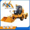 De Vrachtwagen van de concrete die Mixer met Kipwagen in China wordt gemaakt