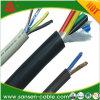 구리 코어 PVC 절연제 PVC 칼집 둥근 합동된 유연한 전화선