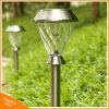 L'extérieur en acier inoxydable LED RVB de paysage de pelouse lumière solaire de jardin