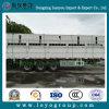 Reboque da carga da cerca dos eixos da alta qualidade 3 para a venda