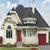 Maison préfabriquée de villa de bâti en acier à vendre