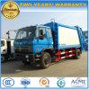 la perte de 4X2 Dongfeng 15m3 rassemblent le camion camion de compresse d'ordures de 15 mètres cubes