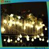 Lumières extérieures de chaîne de caractères de l'ampoule DEL de décoration