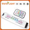 Multi-funcional de control remoto DC5V-24V IR LED RGB controlador