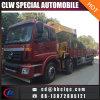 Хороший вагон с краном Foton 6X2 8ton цены телескопичный