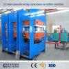 Vulcanización de caucho Platn prensa caliente Prensa hidráulica con sistema hidráulico