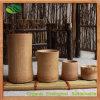 Set de coupe de bambou promotionnel / set de tasse à thé pour le ménage