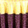 Ткань круглого стола и крышка 17 стула