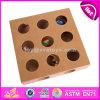 Diseño exclusivo rompecabezas Juguetes de madera Caja de juguetes de madera de mejor venta Gato Gato interactivo juguetes en venta W06F032